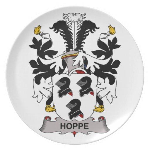 Hoppe Family Crest Dinner Plates
