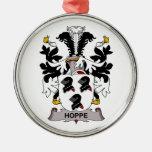 Hoppe Family Crest Ornaments