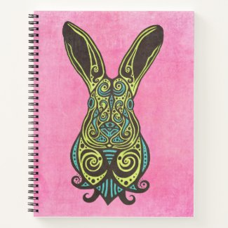 Hopped-Up Hare #3 Notebook