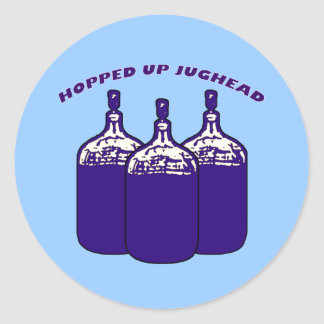 Hopped Up Jughead Round Stickers