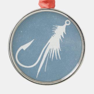 Hopper's Copper Fly Metal Ornament