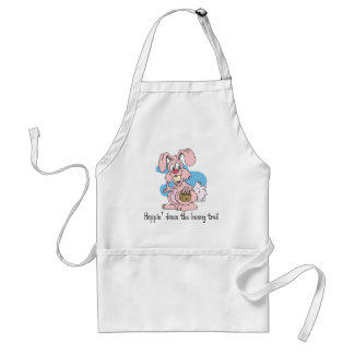 Hoppin' Down the Bunny Trail Adult Apron
