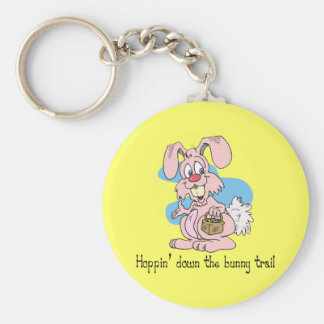 Hoppin' Down the Bunny Trail Key Chains