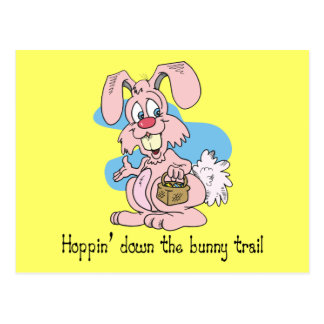 Hoppin' Down the Bunny Trail Post Card