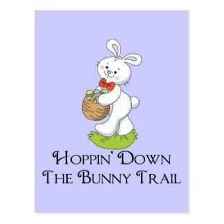 Hoppin' Down The Bunny Trail Postcard