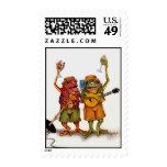 Hoppin Harmonies - postage stamp