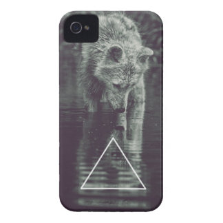 hopping ASTRE wolf iPhone 4 Cases