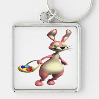 Hopping Bunny Keychain