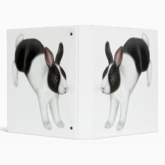 Hopping Bunny Rabbit Avery Binder