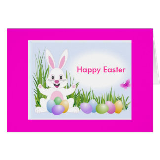 Hopping Down The Bunny Trail! Greeting Card