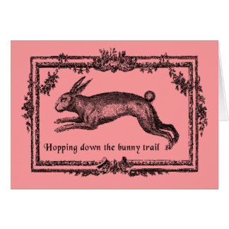 Hopping Down the Bunny Trail Easter Cards