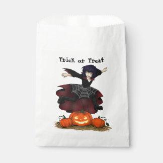 Hopping Hazel Halloween Favor Bags