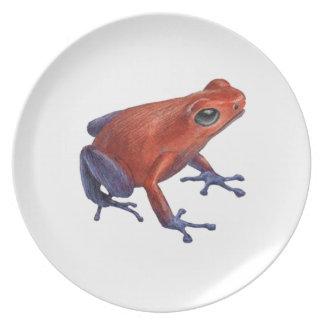 Hopping Limited Melamine Plate