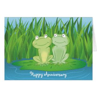 Hoppy Anniversary Card