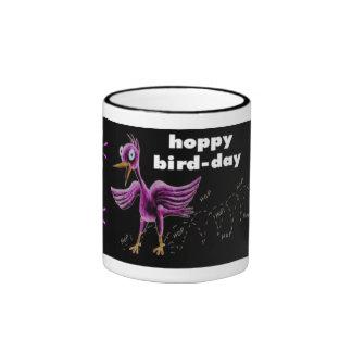 hoppy bird-day coffee mugs