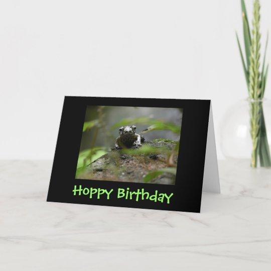 Hoppy Birthday Card Zazzle