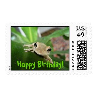 Hoppy Birthday, postage