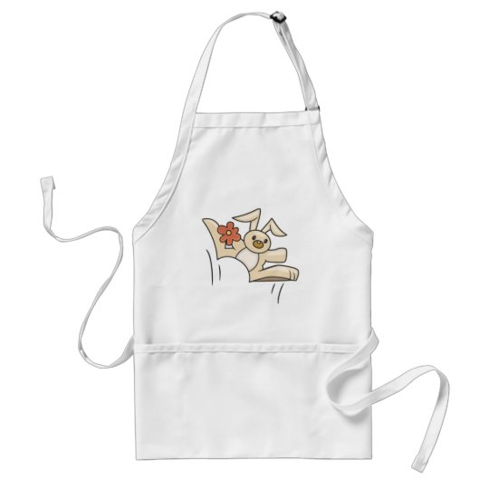 Hoppy Bunny Adult Apron