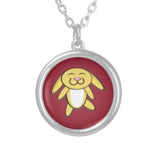 Hoppy Bunny Personalized Necklace