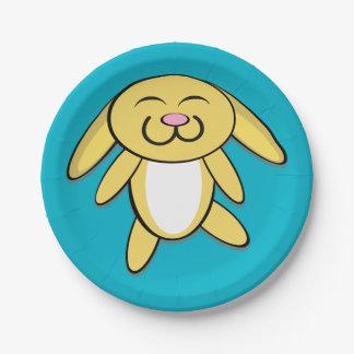 Hoppy Bunny Paper Plate