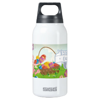 Hoppy Easter 10 Oz Insulated SIGG Thermos Water Bottle