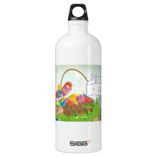 Hoppy Easter Aluminum Water Bottle