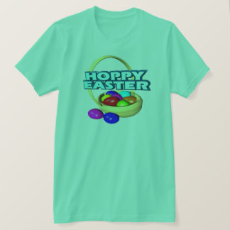 Hoppy Easter Basket T-Shirt