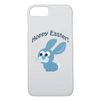 Hoppy Easter! Blue Rabbit iPhone 8/7 Case