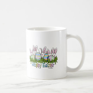 Hoppy Easter Bunnies mug