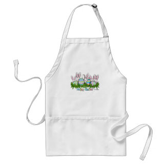 Hoppy Easter Bunny apron