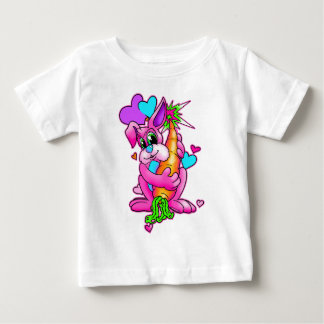 Hoppy Easter Bunny Baby T-Shirt