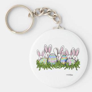 Hoppy Easter Bunny keychain