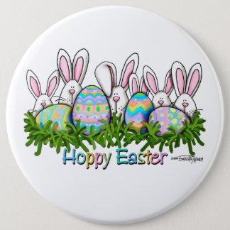 Hoppy Easter Bunny Pinback Button