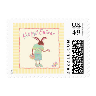 Hoppy Easter Bunny Postage