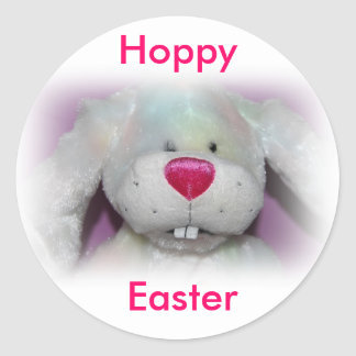 Hoppy Easter Bunny Sticker