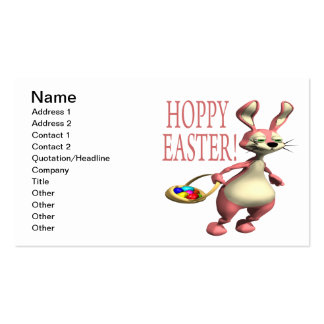 Hoppy Easter Double-Sided Standard Business Cards (Pack Of 100)