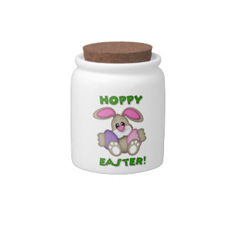 Hoppy Easter Candy Jar