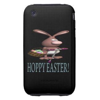 Hoppy Easter Tough iPhone 3 Covers
