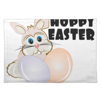 Hoppy Easter Cloth Placemat