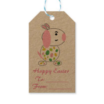 Hoppy Easter Doggy Gift Tag