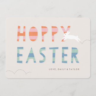 Easter cards personalized easter cards zazzle hoppy easter easter card bubblegum m4hsunfo