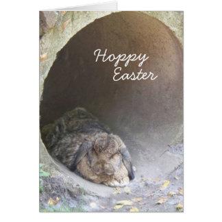 Hoppy Easter I Greeting Card