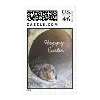 Hoppy Easter I Postage Stamps MEDIUM