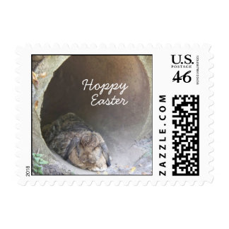 Hoppy Easter I Postage Stamps SMALL