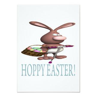 Hoppy Easter 5x7 Paper Invitation Card