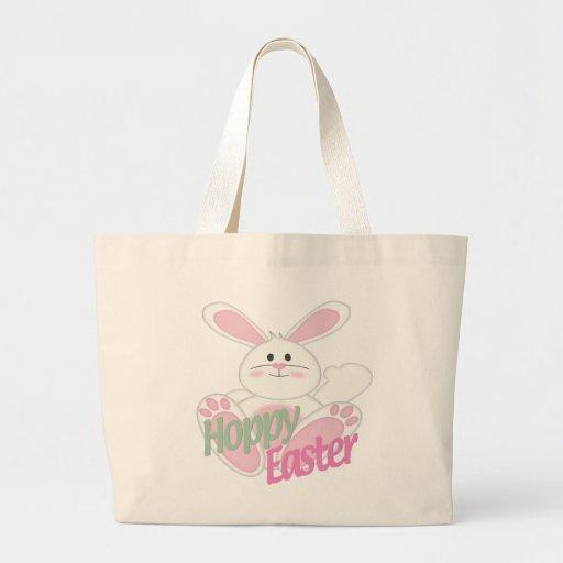 Hoppy Easter Jumbo Tote Bag