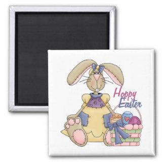 Hoppy Easter Kids Easter Gift Magnets