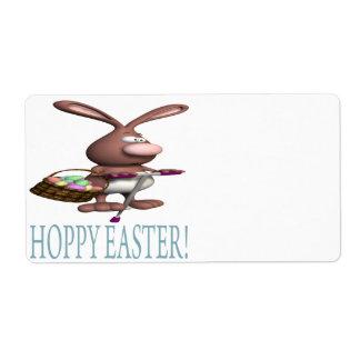 Hoppy Easter Shipping Label