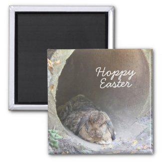 Hoppy Easter Magnet magnet