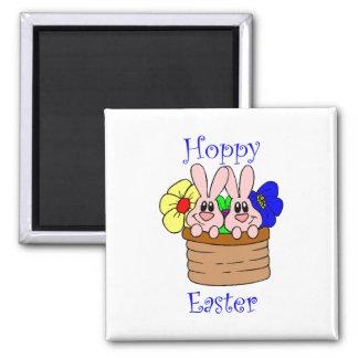 Hoppy Easter Fridge Magnet